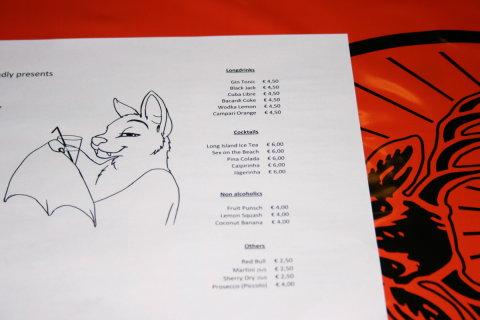 The Hairless menu
